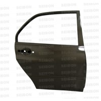 OEM-style carbon fibre doors for 2003-2007 Mitsubishi Lancer EVO (REAR) *OFF ROAD USE ONLY! (pair)