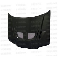EVO-style carbon fibre bonnet for 2000-2004 VW Jetta