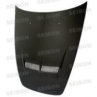 JS-style carbon fibre bonnet for 2000-2010 Honda S2000