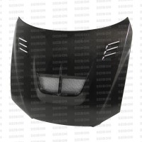 TS-STYLE CARBON FIBRE BONNET FOR 2001-2005 LEXUS IS 300
