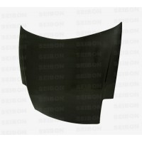 OEM-style carbon fibre bonnet for 2000-2005 Mitsubishi Eclipse