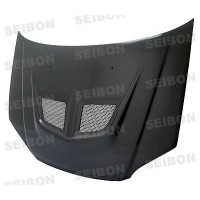 EVO-style carbon fibre bonnet for 2001-2003 Honda Civic