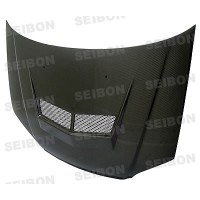 VSII-style carbon fibre bonnet for 2001-2003 Honda Civic
