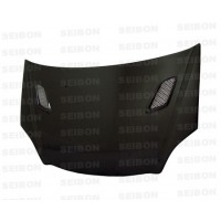 MG-style carbon fibre bonnet for 2002-2005 Honda Civic Si