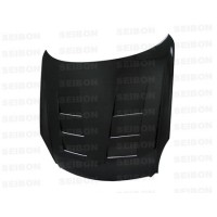TS-style carbon fibre bonnet for 2003-2007 Infiniti G35 2DR