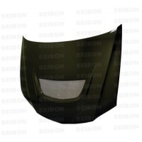 OEM-style carbon fibre bonnet for 2003-2007 Mitsubishi Lancer EVO