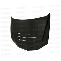 TSII-style carbon fibre bonnet for 2003-2007 Mitsubishi Lancer EVO