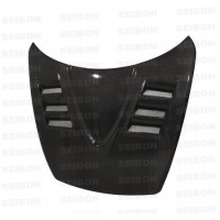 TS-style carbon fibre bonnet for 2004-2008 Mazda RX8