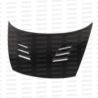 TM-style carbon fibre bonnet for 2006-2010 Honda Civic 4DR