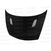 MG-style carbon fibre bonnet for 2006-2010 Honda Civic 4DR JDM / Acura CSX