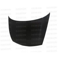 OEM-style carbon fibre bonnet for 2006-2010 Honda Civic 4DR JDM / Acura CSX