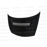 VSII-Style Carbon fibre bonnet for 2006-2010 Honda Civic Sedan JDM / Acura CSX