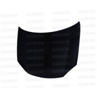 OEM-style carbon fibre bonnet for 2006-2009 VW Golf GTI (Shaved)