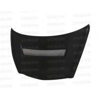 VSII-Style Carbon fibre bonnet for 2007-2008 Honda Fit