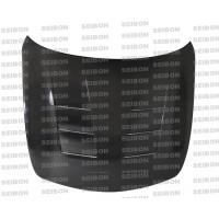 TS-style carbon fibre bonnet for 2008-2010 Infiniti G37 4DR