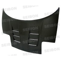 CW-style carbon fibre bonnet for 1992-2001 Acura NSX