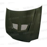 EVO-style carbon fibre bonnet for 1992-1995 Honda Civic 2DR/3DR