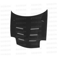 TS-style carbon fibre bonnet for 1993-2002 Mazda RX-7