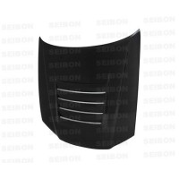 DS-style carbon fibre bonnet for 1999-2001 Nissan Skyline R34 GT-R