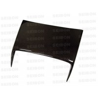 C1-style carbon fibre bonnet scoop for 2000-2005 Toyota Celica