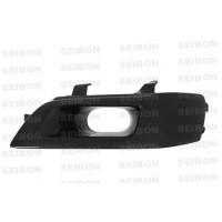 Carbon fibre headlight for 2003-2007 Mitsubishi Lancer EVO (driver-side)