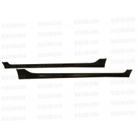 MG-style carbon fibre side skirts for 2006-2010 Honda Civic 4DR