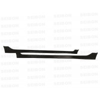 MG-style carbon fibre side skirts for 2006-2010 Honda Civic 4DR JDM / Acura CSX