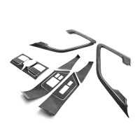 CARBON FIBRE INTERIOR DOOR TRIM SET FOR 2009-2016 NISSAN GT-R - 12 pcs