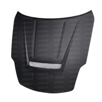 VSII-style DRY CARBON bonnet for 2002-2006 Nissan 350Z..*ALL DRY CARBON PRODUCTS ARE MATTE FINISH!