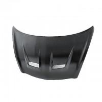 DV-Style Carbon fibre bonnet for 2007-2008 Honda Fit (Straight Weave)