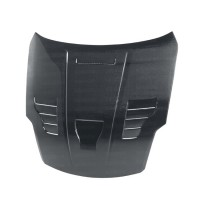 VT-style carbon fibre bonnet for 2007-2008 Nissan 350Z (also fits 2002-2006 models)