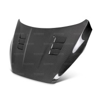 TS-STYLE CARBON FIBRE BONNET FOR 2015-2017 FORD FOCUS