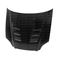 TS-style carbon fibre bonnet for 1996-1998 Honda Civic