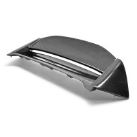MG-style carbon fibre rear spoiler for 2002-2005 Honda Civic Si (JDM)
