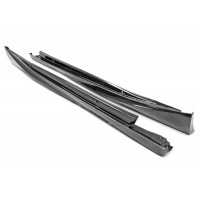 OEM-STYLE CARBON FIBRE SIDE SKIRTS FOR 2014-2019 LEXUS IS