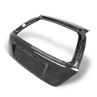 OEM-style carbon fibre boot lid for 2002-2005 Honda Civic SI JDM